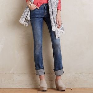 Anthro Pilcro and the Letterpress Parallel Jeans